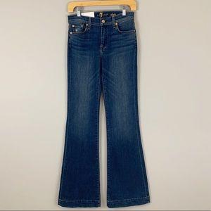 NWT 7 For All Man Kind Dojo Original Trouser Jeans